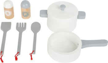 Cocina infantil - Frigorifico gris