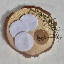 Discos Desmaquillantes lavables - Pack 3 - blancos
