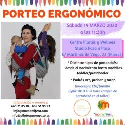 Taller de Porteo Ergonómico - MIERES - 14 MARZO