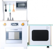Cocina infantil - moderna con barra