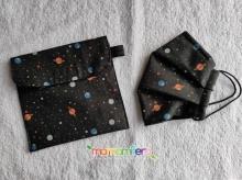 Bolsita porta-mascarillas - formato universal - Universo