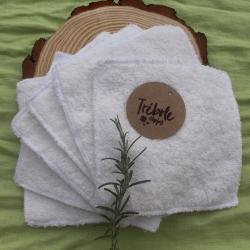 Toallitas lavables - Pack 6 - algodón orgánico