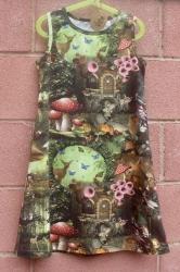 Vestido infantil - Bosque mágico