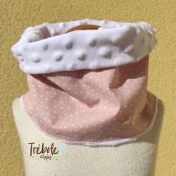 Cuello / Buff - Estrellas rosa