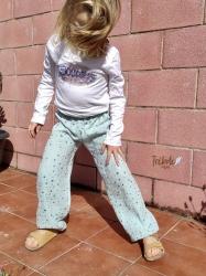 Pantalón infantil harem - Brilli Brilli MInt