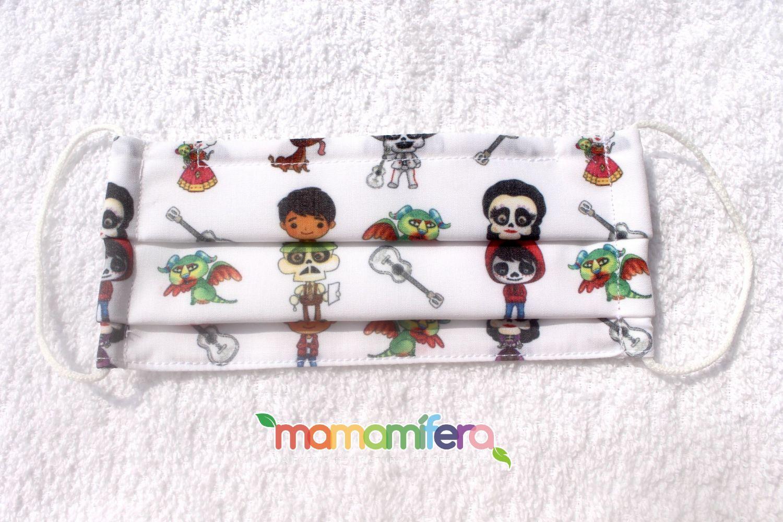 Mascarilla higienica infantil - tejido homologado - Coco