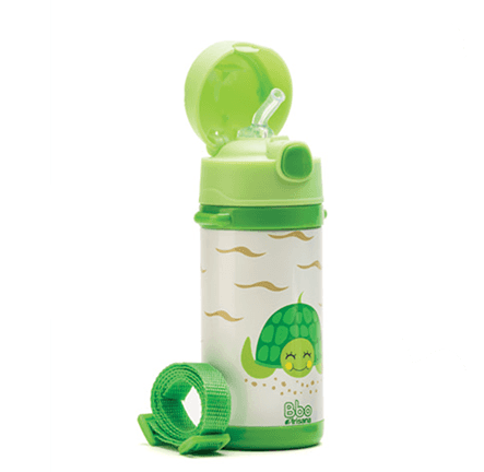Botella -Termo infantil reutilizable - tortuga