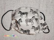 Mascarilla higienica infantil - tejido homologado - Cebras