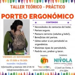 Taller de Porteo Ergonómico - GIJÓN - 29 noviembre