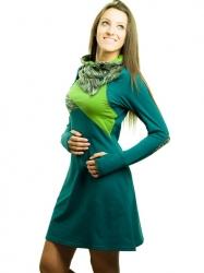 Vestido Amber - Verdes