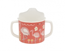 Taza Sippy Cup - Flamingo