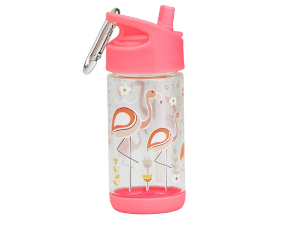 Botella reutilizable - Cantimplora Infantil - Flamingo