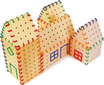 Placas de construcción para ensartar