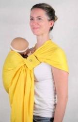 Bandolera Ling Ling dAmour - amarillo