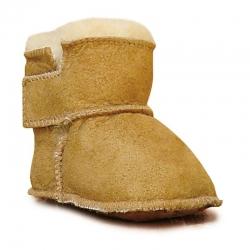 Botitas de piel - Camel