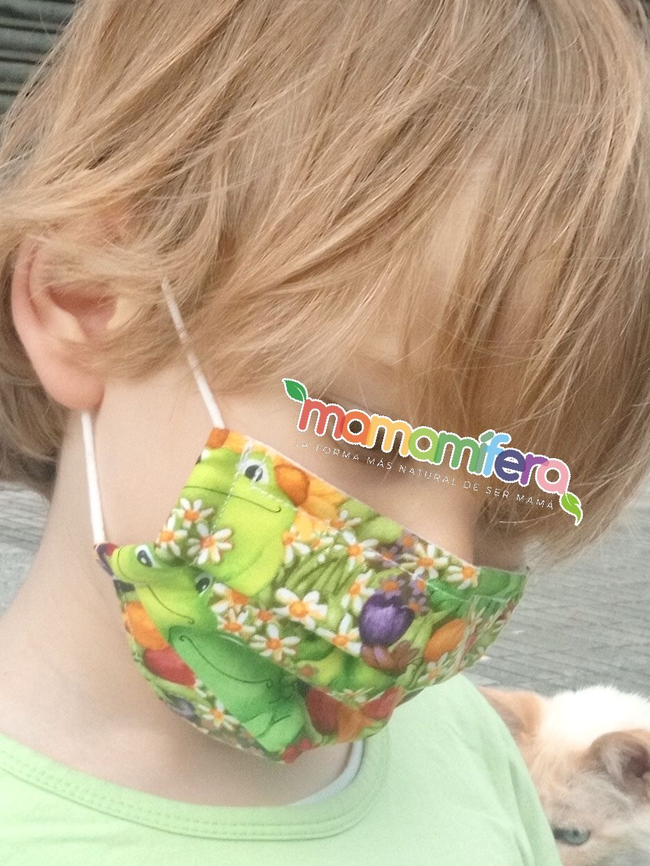 Mascarilla higienica infantil - tejido homologado - Star Wars