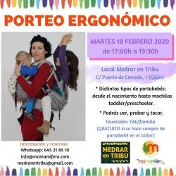 Taller de Porteo Ergonómico - GIJÓN - 18 febrero