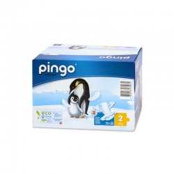 Pack Pañal Ecológico Pingo - Talla 2 - Mini (3-6 Kg)