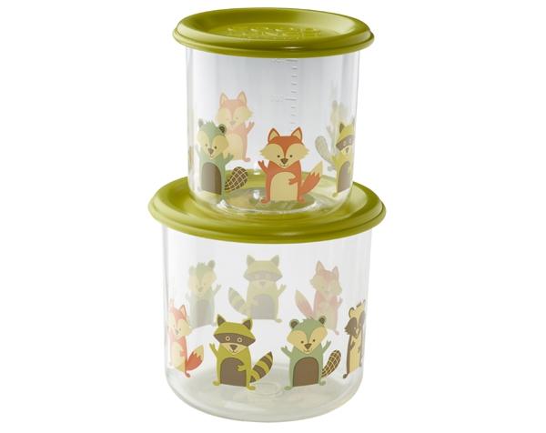 Set de 2 tuperes infantiles - Grandes - Fox