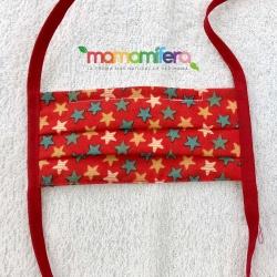 Mascarilla infantil - tejido homologado - Stars