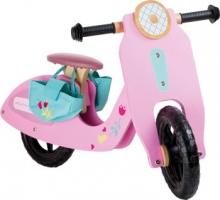 Bicicleta aprendizaje - vespa rosa