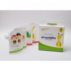 Bolsita Reutilizable para comida - Pack de 4