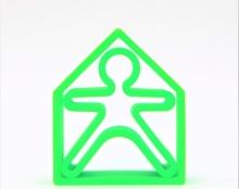 Dëna - 1 Kid + 1 House - Verde