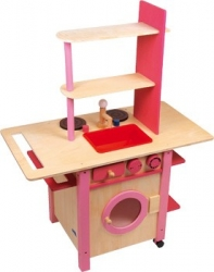 Cocina infantil - All in One - rosa