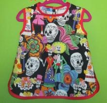 Vestido bebé / infantil  - Esqueletos y Calaveras Mexicanas