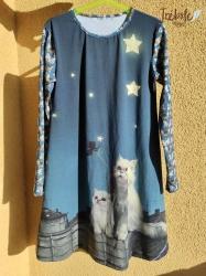 Vestido infantil - Gatos sobre el Tejado