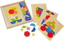 Caja de Mosaico madera