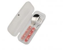 Set de Cubiertos Silverware (cuchara y tenedor) - Flamingo