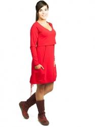 Vestido Lily - rojo