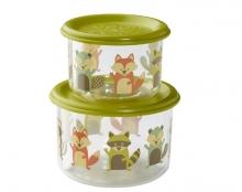 Set de 2 tuperes infantiles -  Fox