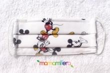 Mascarilla higienica infantil tejido homologado - Mickey