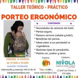 Taller de Porteo Ergonómico - GIJÓN - 13 marzo