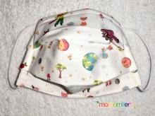 Mascarilla higienica infantil - tejido homologado - Le Petit Prince