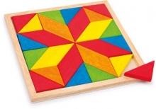 Mosaico madera - Estrella