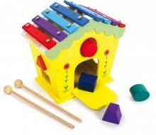 Casa musical Xilófono Dodoo