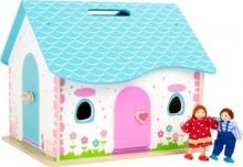 Casita de muñecas - abrir y cerrar