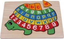 Puzzle Abecedario - Tortuga ABC